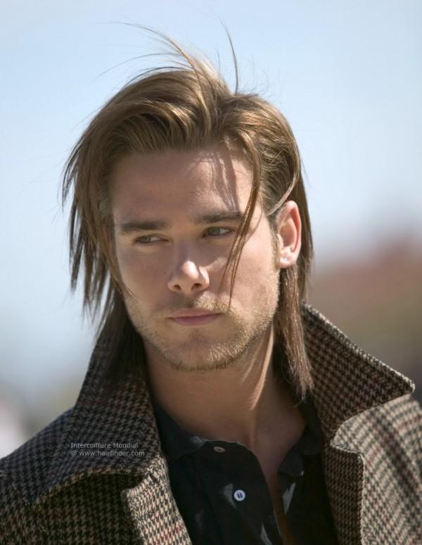 cabello largo para hombres