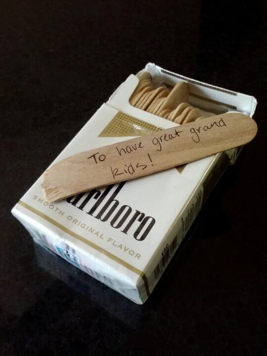 cajetilla cigarros diy
