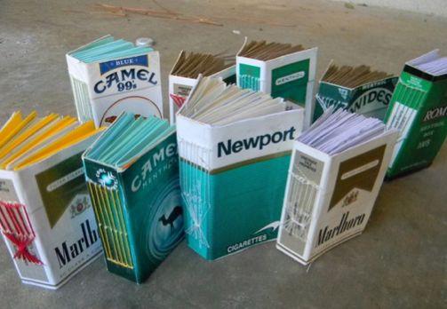 cajetilla cigarros