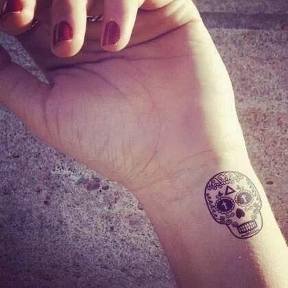 calavera tatuaje