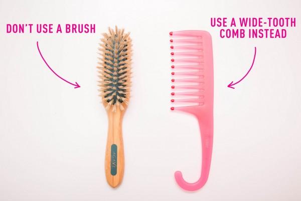 cepillo adecuado