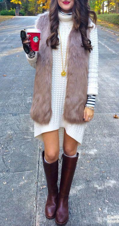 chaleco vestido