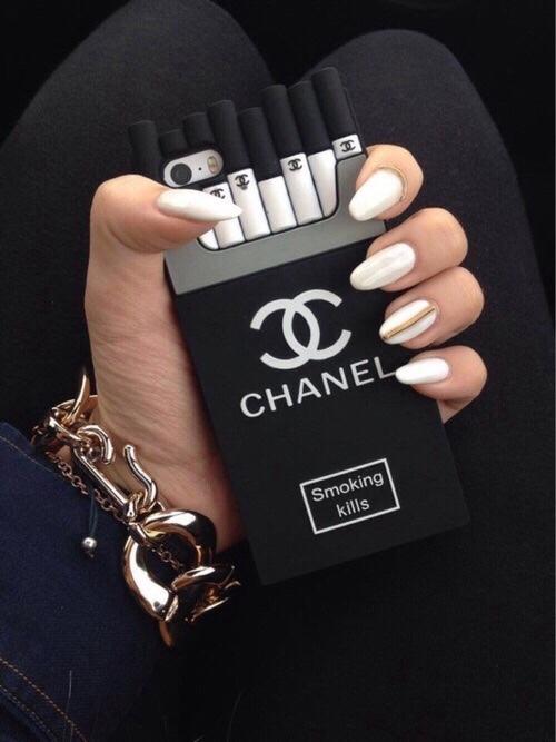 chanel smoking