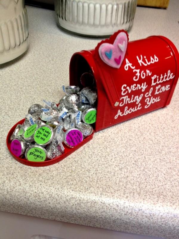 chocolates kisses