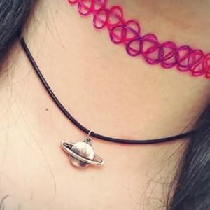 choker collar rosa