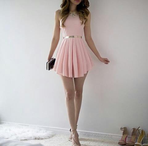 Vestidos de fiesta chicas jovenes
