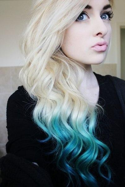 color cabello lindo mujeres