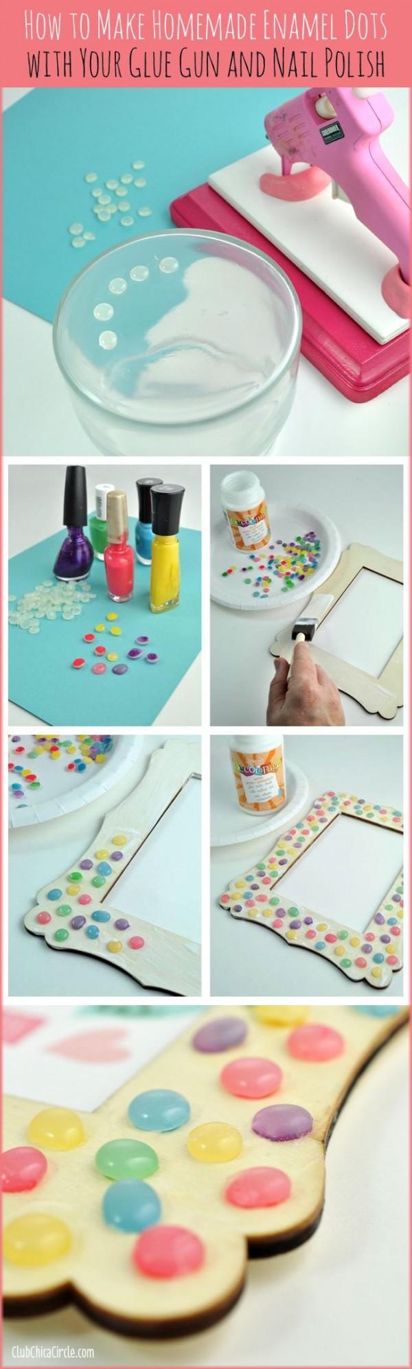 colorear con esmaltes
