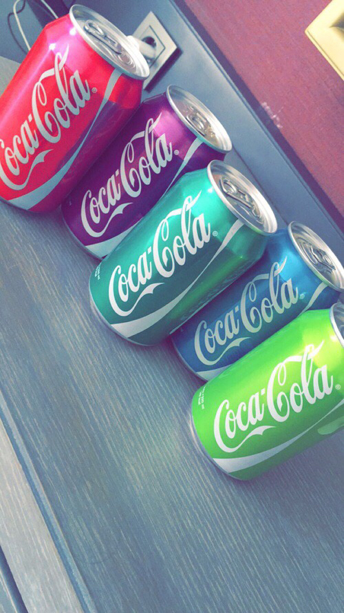 colores cocacola