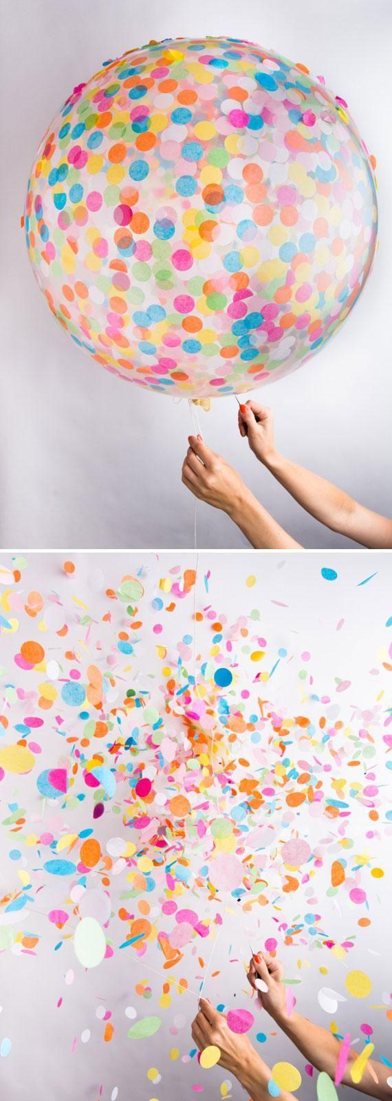 15 maneras de agregarle confeti a tu fiesta de xv a os for Como hacer confeti