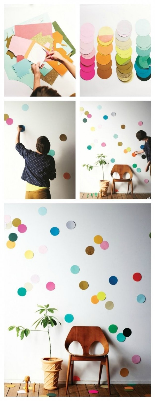 confeti pared