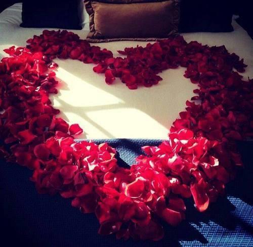 corazon de petalos