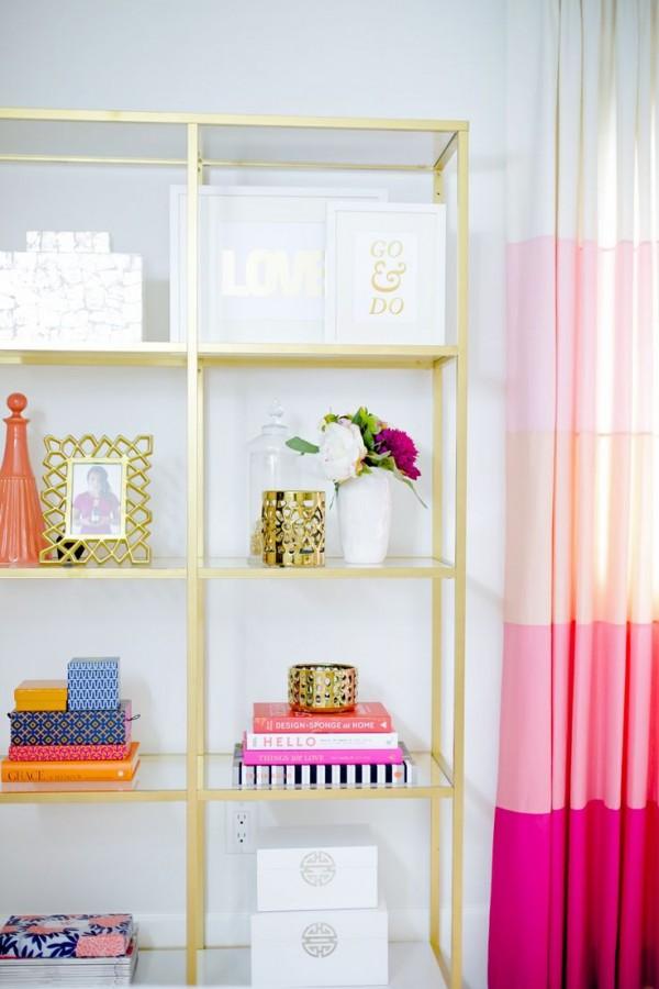 cortinas rosadas