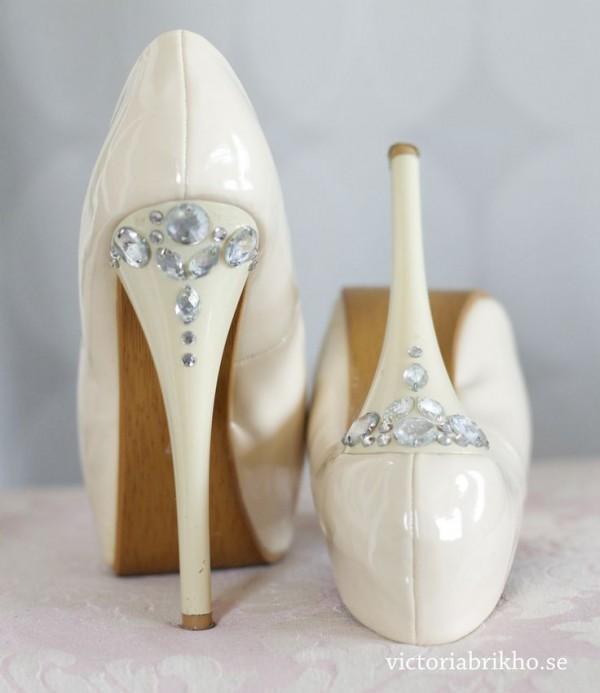 cristales zapatos