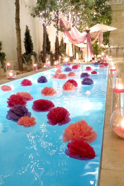 Ideas para transformar tus XV aos en una pool party