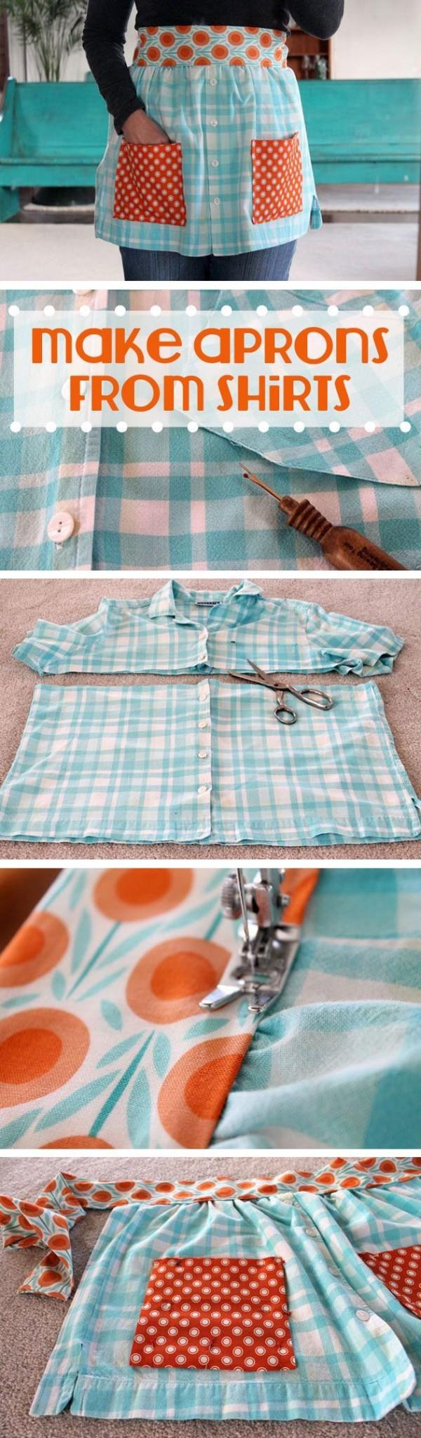 delantal camisa