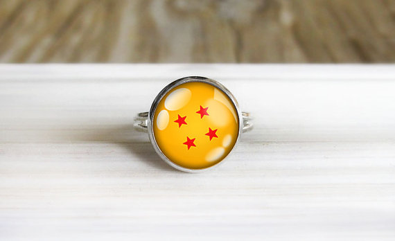 dragon ball anillo