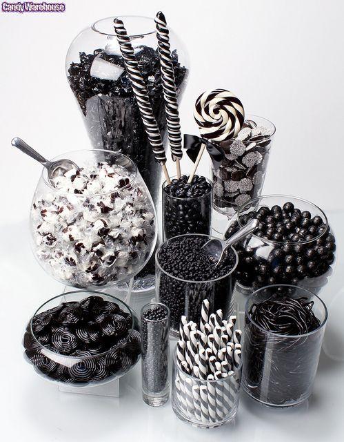 dulces negros