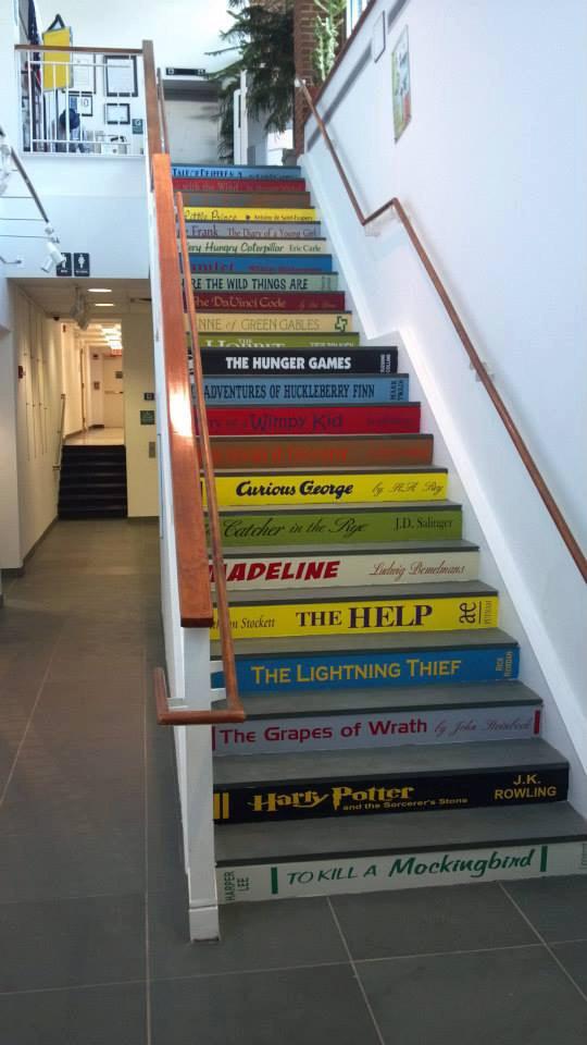 escaleras libros