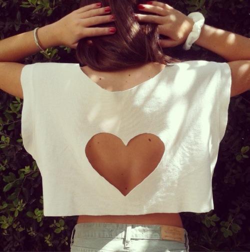 escote espalda corazon