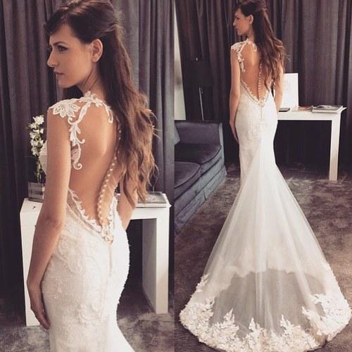 12 Escotes de espalda que tu vestido de novia debe tener