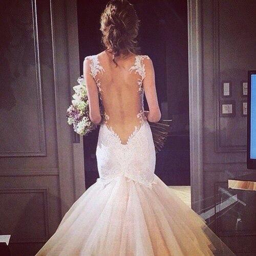 espalda vestido