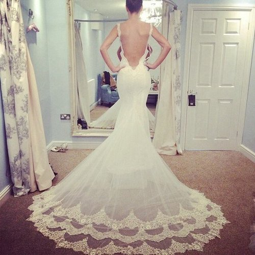 Vestidos de novia con escote en espalda