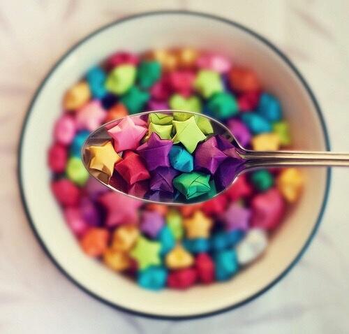 estrellitas de colores