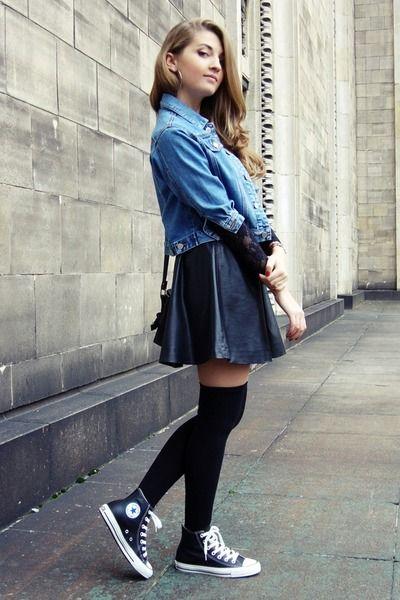 falda converse