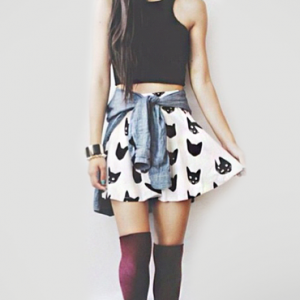 falda-rodilla