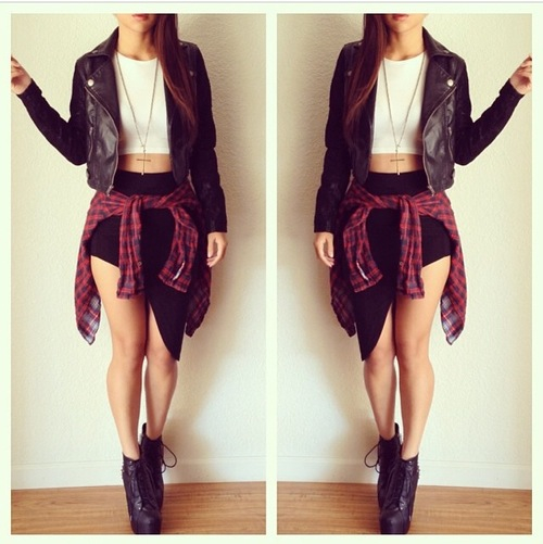 falda sueter