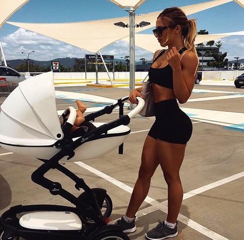 Mujeres Que Inspiraran a hacer fitness después de ser mamà