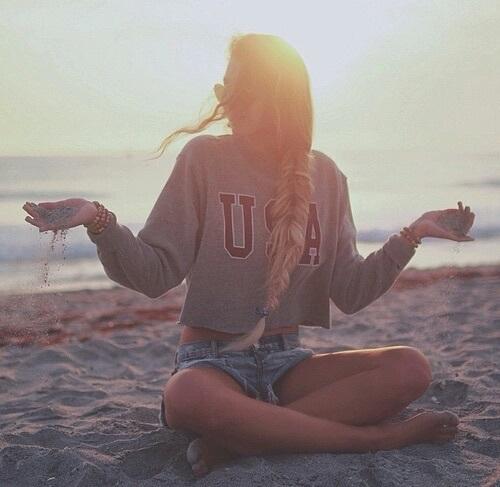 15 ideas para hacer tu propia sesi n de fotos en la playa - Fotos originales para hacer en casa ...