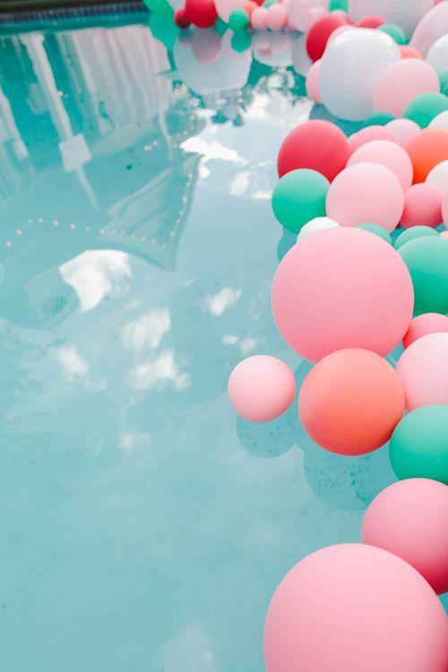 globos alberca