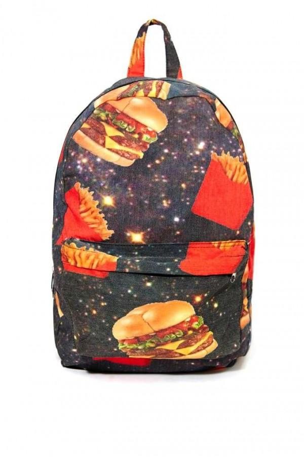 hamburguesa mochila