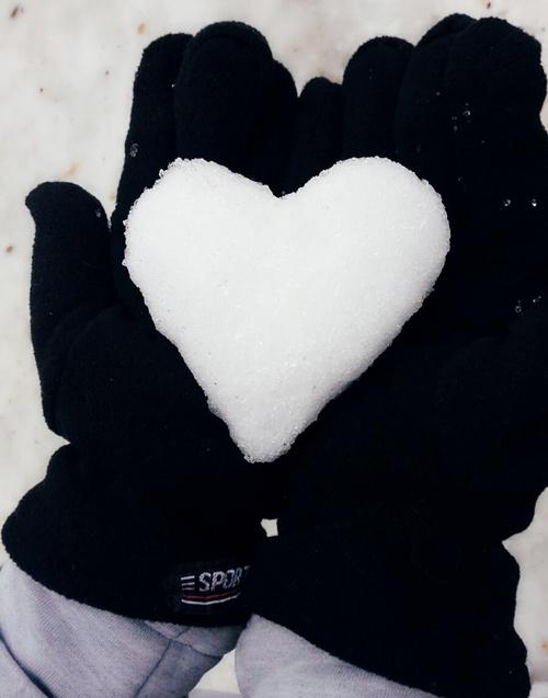hielo corazon