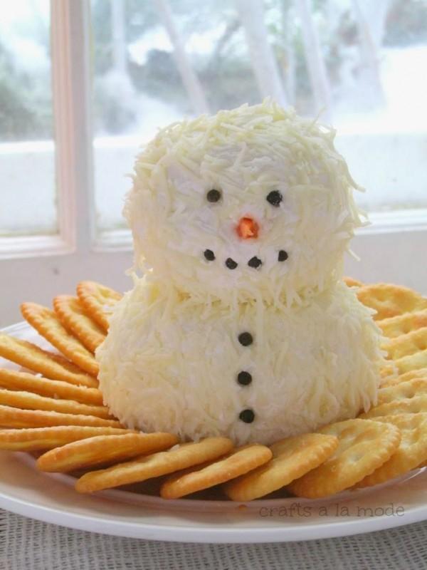 hombre de nieve snack
