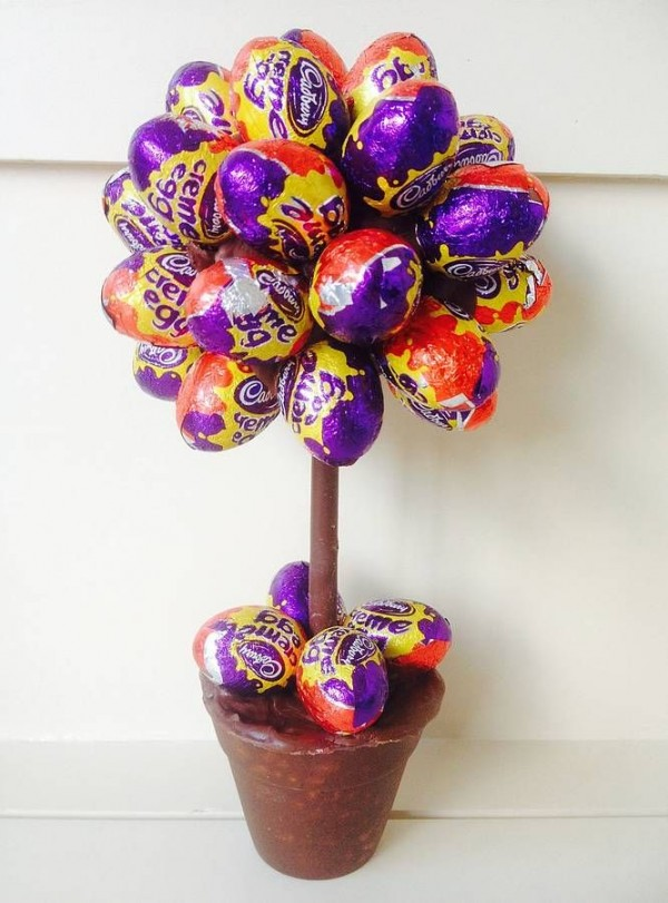 huevito chocolate arbol