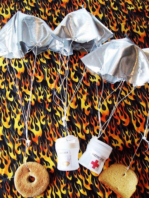 hunger games paracaidas