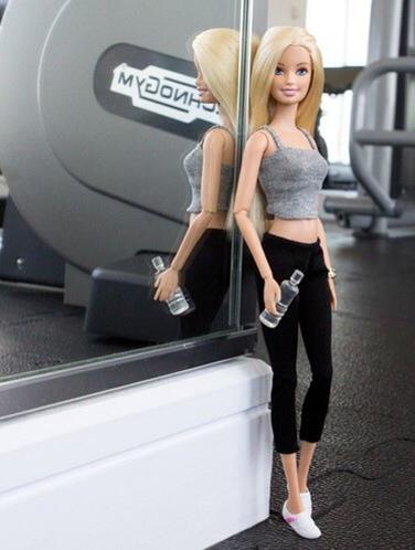 instagram foto barbie