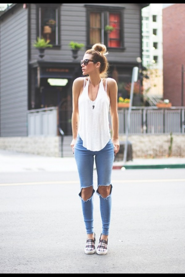 15 Super Tus Jeans Rotos Ideas Fashion Para Combinar OPZTXiku