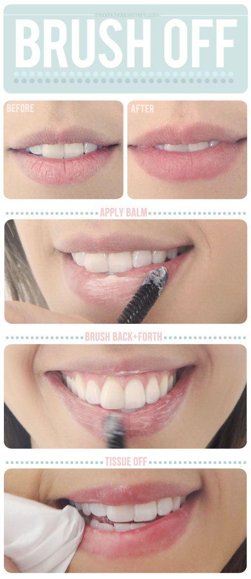 labios cepillo