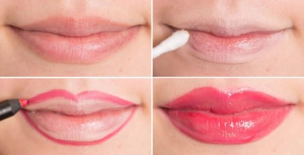 labios grandes trucos