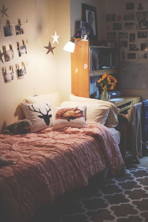 lampara cama