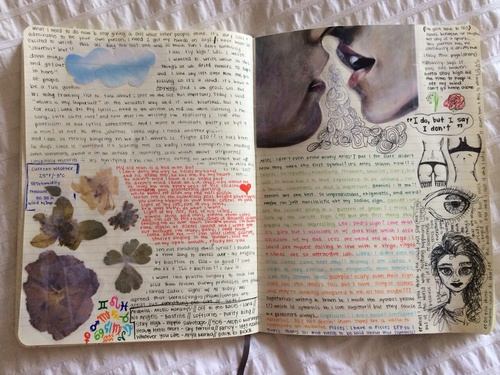 18 Chulísimas maneras de adornar un diario