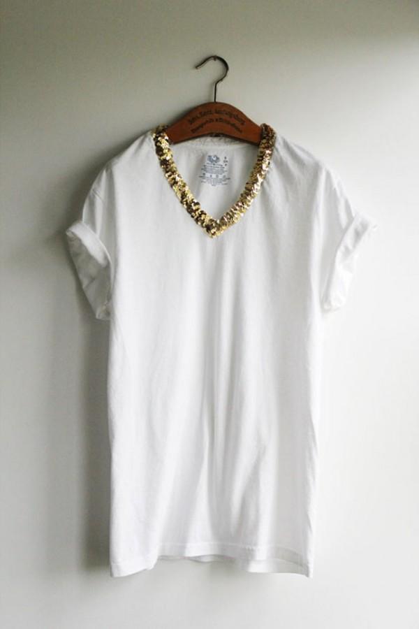 lentejuela camisa