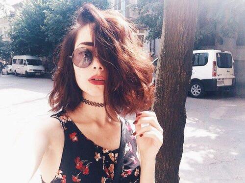 lentes redondos cabello