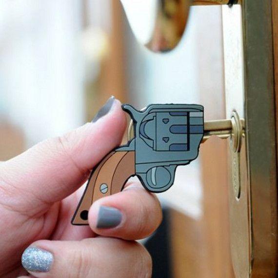 llave pistola