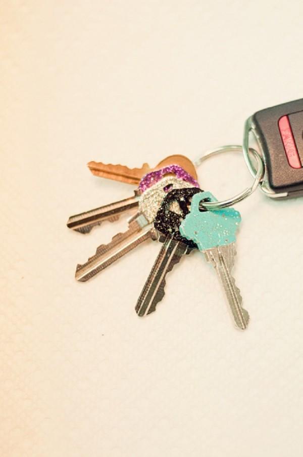 llaves esmalte
