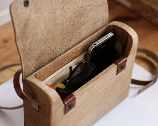 mochila madera